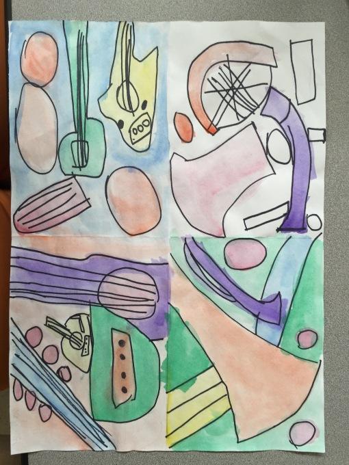 3rd grade Picasso
